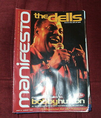 Manifesto Soul Music Magazine Issue 23,august 1999