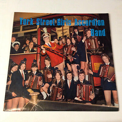 York Street Girls Accordion Band. Outlet records. Lp.