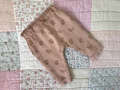 Girls Zara Trousers Bottoms 6-9 Months