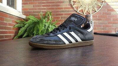 Vintage 2008 Adidas Samba Classic Soccer Inspired Shoes Sz 11 M Used  Trainers 60ddc4b83