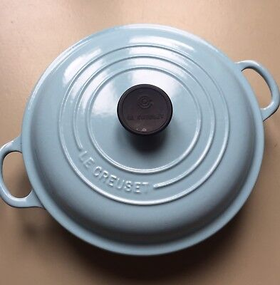 Le Creuset 26Cm Casserole In Duck Egg/Baby Blue