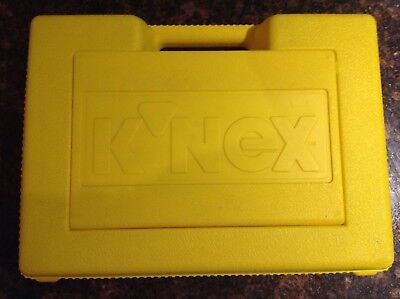 Job Lot Collection of Original K'NEX in Yellow Carry Case Approx 2.0 kg - Used