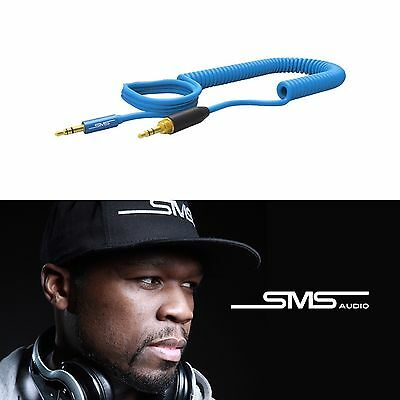 3.5mm to 3.5mm AUX DJ CAR MP3 Coiled Cable SMS AUDIO Stereo Jack Lead iPhone use