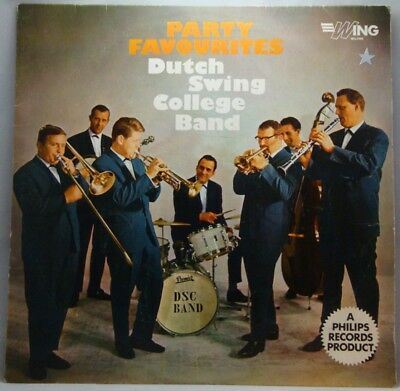 Dutch Swing College Band Party Favourites LP