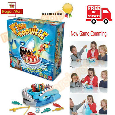 Shark Bite Board Game Sharks Trap Family Interactive Desktop Party Toy Xmas Gift