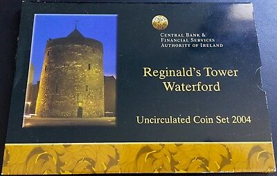 IRLANDA Cartera con 8 valores EURO 2004 Reginald´s Tower Waterford (FDC)