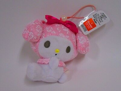 My Melody Sanrio Plush Doll Rose Pink Not Sold in Stores Japan Limited Rare NEW