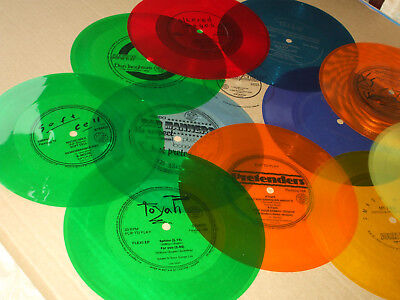 Lot Of Flexi Discs In Vg Con Bad Manners Toyah