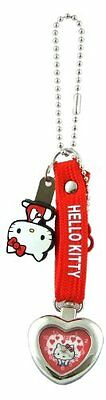 Sanrio Hello Kitty Red Heart Keychain Watch KT10127 limited Japan from Japan