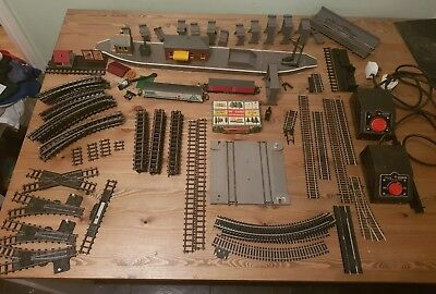 job lot tri ang lima train track platform power units collectable