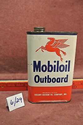 Mobile Oil OutBoard Motor Oil Can