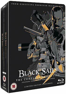 Black Sails: The Complete Collection (Seasons 1-4) (Steelbook - Blu-Ray)