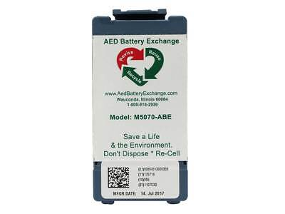 ABE Re-celled M5070A Battery for Philips Heartstart Onsite & FRx - Warranty!