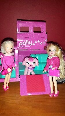 Polly Pocket Sparkling Pets Loveable Limo