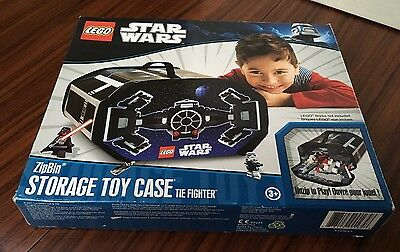Tie Fighter ZipBin 2011 LEGO Star Wars ZipBin Storage Toy Case L@@K