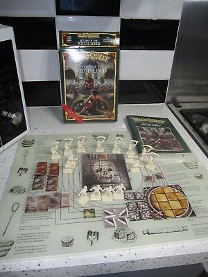 Heroquest return of the witch lord expansion pack complete