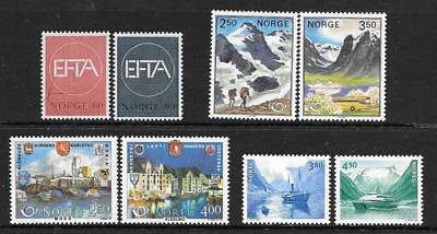 NORWAY - 4 x MNH Sets - 1960s/80s Period