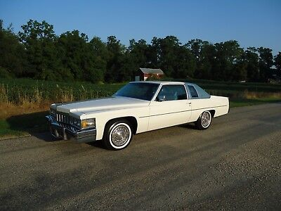 1977 Cadillac DeVille COUPE 1977 CADILLAC COUPE DEVILLE -30,009 ACTUAL MILES -LOOKS NEW- ABSOLUTELY GORGEOUS