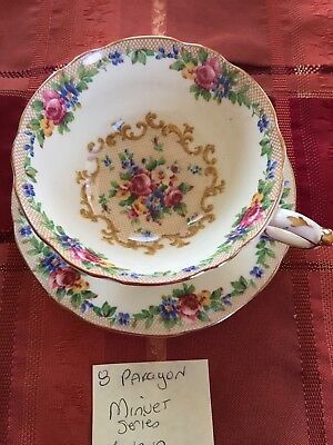 Paragon Minuet  Bone China Cup And Saucer England
