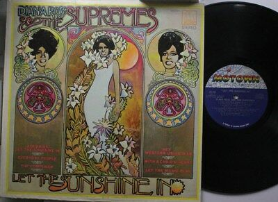 Soul Lp Diana Ross & The Supremes Let The Sunshine In On Motown
