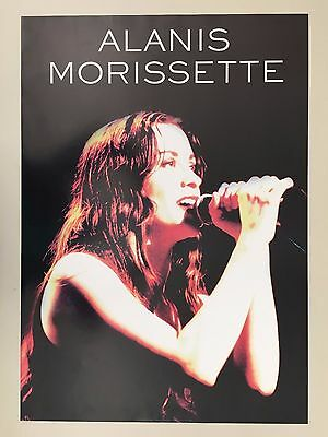 ALANIS MORISSETTE, AUTHENTIC 1990's  POSTER