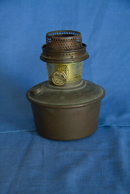 Aladdin Model 12 Brass Kerosene Font and Burner