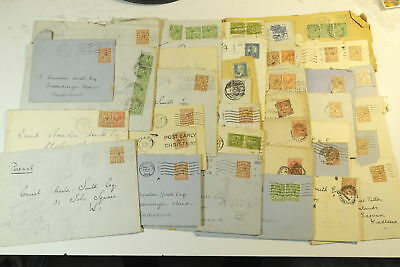 b2e1: Large Selection of 38Covers/Envelopes. 1901-1946