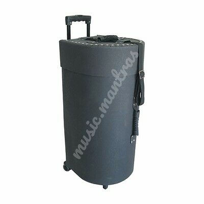 Tabla Carry Case Fibre Glass Box Travel D Shape With Trolley