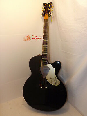 2016 Used Gretsch Rancher Falcon black finish. new retail $849.00 Can.