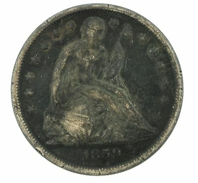 1859-O New Orleans Seated Liberty Silver $1 Dollar Coin