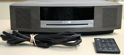 Bose Wave Music System AWRCC1 Radio CD Player With Alarm Clock and Remote