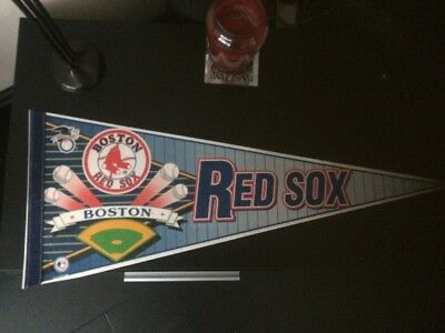 Boston Red Sox Baseball Pennant