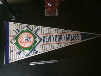 New York Yankees Baseball Pennant