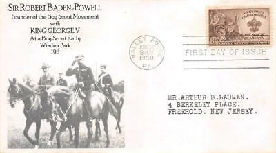 995 3c Boy Scouts, First Day Cover Cachet [E278546]