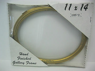 Gold Leaf Oval Piture  Frame 11X14