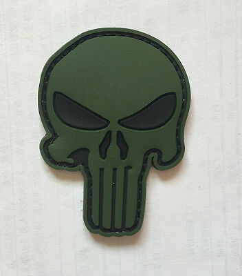 NEW THE PUNISHER SF / SEALS Hook PVC rubber patch Army Patches   SK  + 1022