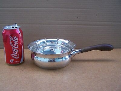Arts & Crafts Danish Hand Wrought 826 Silver Sauce Pot  By Christian Fr. Heise