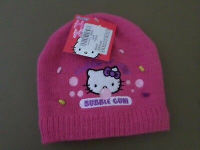 Bonnet Hello Kitty Fushia 52cm