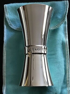 Tiffany & Co. Sterling Silver Double Jigger 1837 Pattern