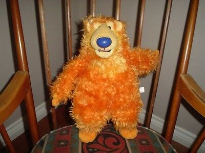 Mattel 1998 Bear in the Big Blue House Plush Jim Henson 14 inch Tall