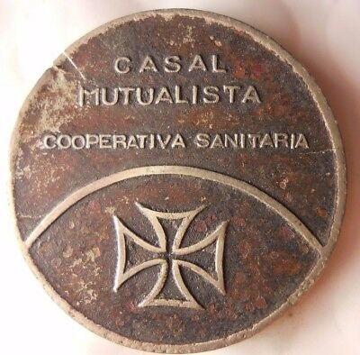 1935 ca SPAIN - CIVIL WAR - CASAL MUTUALISTA SANITARIA - IRON CROSS - Lot #113
