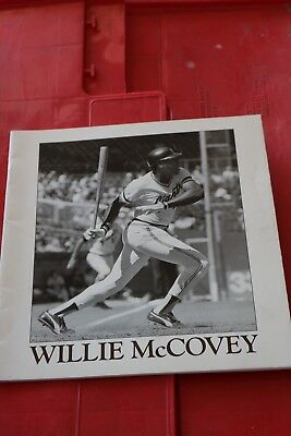 Willie McCovey signed book  SFO Giant