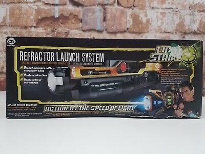 Light Strike Refractor Launch System Lazer Tag Gun WOWWee NOS Dead Stock