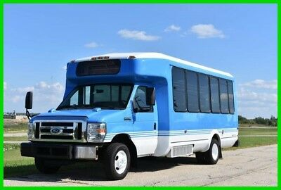 2013 Ford E-450 Airport Shuttle Wrap Around Seating -123 K MILES. Clean!