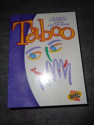 Taboo - The Game of Unspeakable Fun 2000 by Hasbro - NEW SEALED