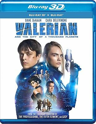 Valerian and the City of a Thousand Planets (Blu-ray 3D + Blu-ray) (All) (New)