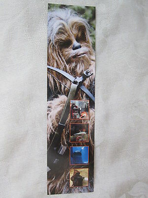 "Star Wars BOOKMARK feat. CHEWBACCA by DK Publishers 8""x2"" [new] 2015"