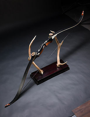 """AF New 58"""" Takedown bow 25-55lbs Recurve Bow and long bow Shooting for Hunting"""