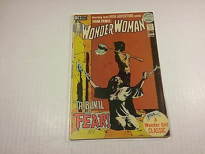 Wonder Woman #199 (Mar-Apr 1972, DC), Classic Cover, F-