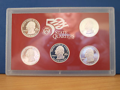 United States Set of Five Silver Quarters
